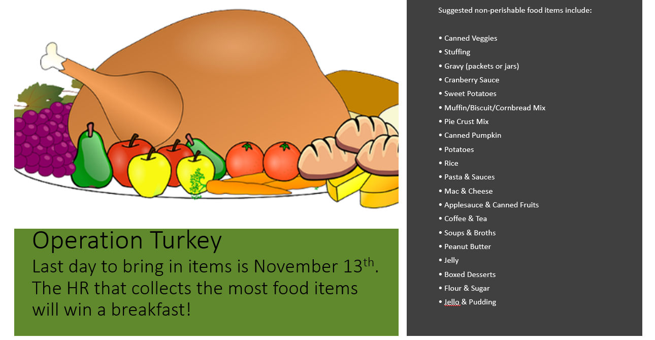 Operation Turkey is going on until Nov 13th